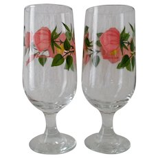 Franciscan Desert Rose 12 oz. Iced Tea Stemware (Set of 2)