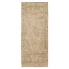 Vintage Turkish Yastik Rug, 1'7 x 3'9