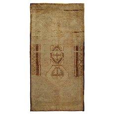 Vintage Turkish Yastik Rug, 1'8 x 3'3