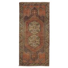Vintage Turkish Yastik Rug, 1'8 x 3'5