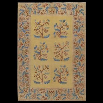 Antique Bessarabian Kilim, 7' x 10'
