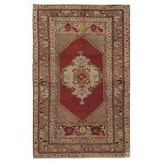 Vintage Turkish Oushak Rug, 3' x 5'8