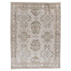 Oushak Style Hand Knotted Rug 9' X 11'9