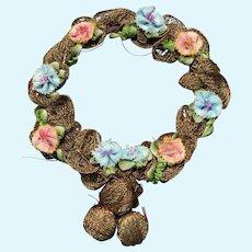 Lovely Wreath Headpiece for Doll