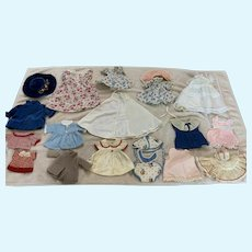 Awesome Lot of 1950's Doll Clothes