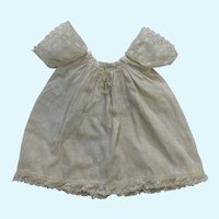 Sweet Handkerchief Cotton Gown for Chubby French German  Bisque