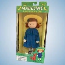 1996 Eden 8 inch Poseable Madeline Doll NRFB