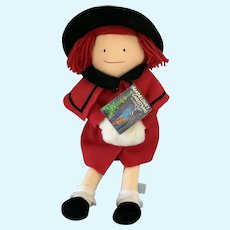 "Eden 18"" Cloth Madeline Doll 1990"