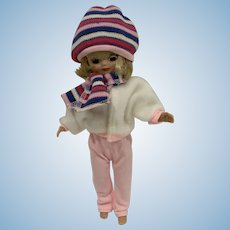 "Sweet Snow Ski Outfit for 7""-8"" Doll— Fits Tiny Betsy McCall!"