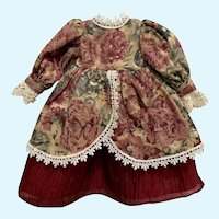 Vintage Renaissance Style Doll Dress