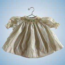 "Rosalina Smocked Doll Dress for 12"" Doll"