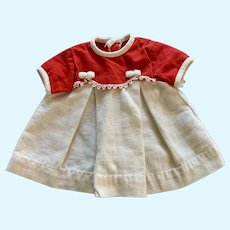 Vintage Doll Dress and Onesie Slip for 1970's Topper Smarty Pants Doll