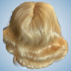 Pretty Golden Blonde Wig Size 5 for Small Doll Ginny, Muffie, Alexanderkin