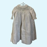 """Vintage Dimity Doll Gown for 9"""" - 11"""" French German Bisque Baby"""