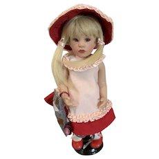 "Enchanting 11"" Vinyl Gotz Nella Doll with Original Box, Tags by Beatrice Perini"
