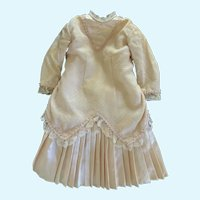"""Outstanding 2-Piece Doll Dress for 22""""-23"""" French German Bisque"""
