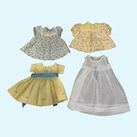 Vintage Lot of 1950's Doll Dresses for HP Compo