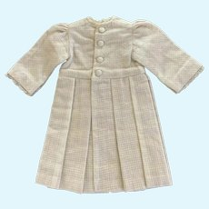 Tailored Coat Dress for French German Bisque Doll