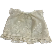 Sweet Vintage Doll Dress & Slip for Tiny French German Bisque Compo