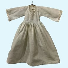 Vintage Doll Dress for Small French German China Head Bisque