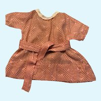 Sweet Vintage Doll Dress for Composition Doll