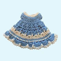little Crochet Doll Dress for French German Bisque