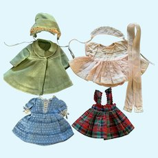 Vintage 1950's Doll Clothing Lot for Ideal, AC, R&B