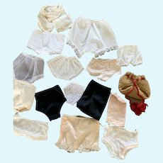 16-Piece Doll Undies LOT with Old, New, S,M,L is Useful!
