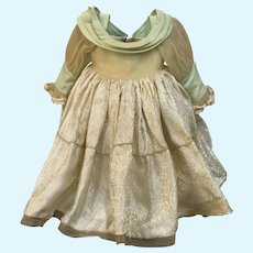 Amazing Vintage Doll Evening Gown for French German Bisque China