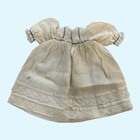 Exquisite Silk Doll Dress for French German Bisque