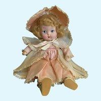 Beautiful Cloth Krueger Doll 1940's