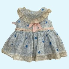 Darling Vintage 1950's  Doll Dress