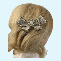 Vintage 1940's Golden Glamour of England Barrette for Doll's Hair or Accent
