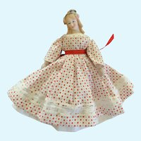 Vintage Doll Dress and Undies for Small French German China Bisque