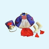"Precious Vintage Majorette Costume for 7""-8"" Doll"
