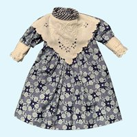 Sweet Vintage Doll Dress for Small French German Bisque China