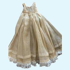 Wonderful Old Doll Slip Underdress