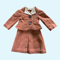Vintage Tailored Linen Suit for Small French German Doll