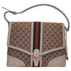 Leather Handbag by Gucci