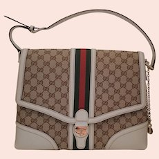 Leather Handbag by Gucci