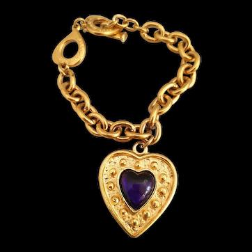 Vintage charm bracelet by YSL