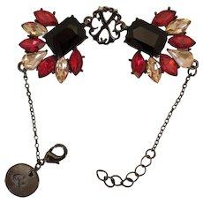 Red crystals Christian Lacroix Bracelet