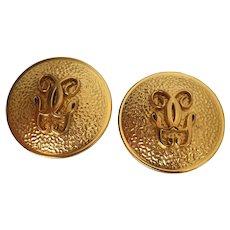 Goldplated Guerlain earrings
