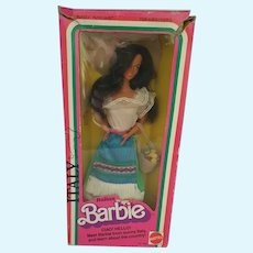 Barbie Doll of The World Italian 1st edition 1979