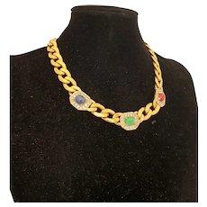 Multicolor Metal Vogue Necklace