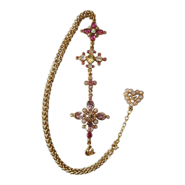Vintage cable chain and pendant by Christian Lacroix