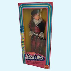 Barbie Doll of The World Scottish 1st edition 1980