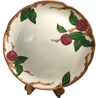 """Franciscan Apple 12 1/2"""" Round Platter or Chop Plate"""