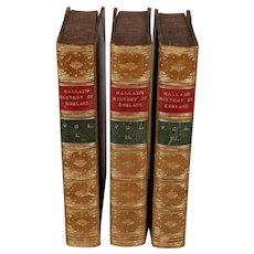 """book: """"The Constitutional History of England"""", in 3 volumes"""