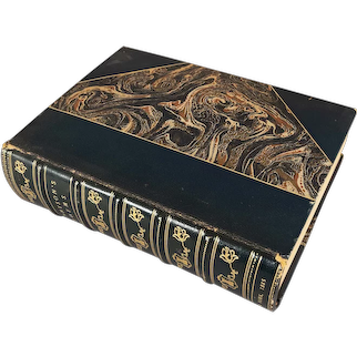 """book - """"Poetical Works of Alfred, Lord Tennyson"""", 1885"""